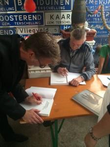 juttersboek signeren